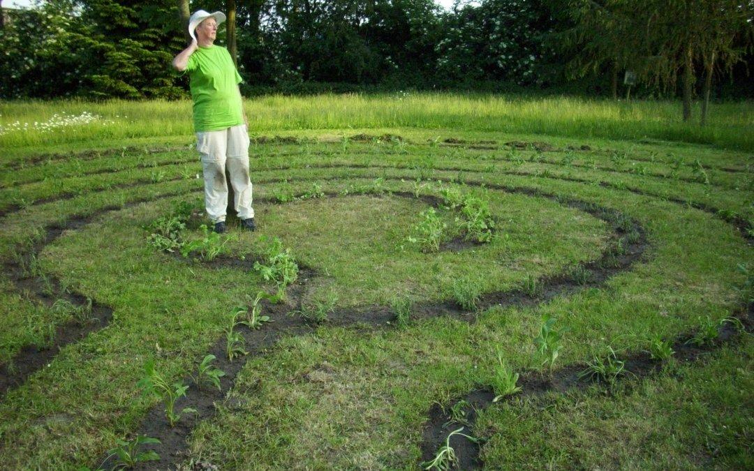 Das Labyrinth möge wachsen und gedeihen
