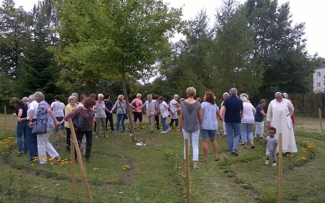 Pflanzen-Labyrinth eingeweiht