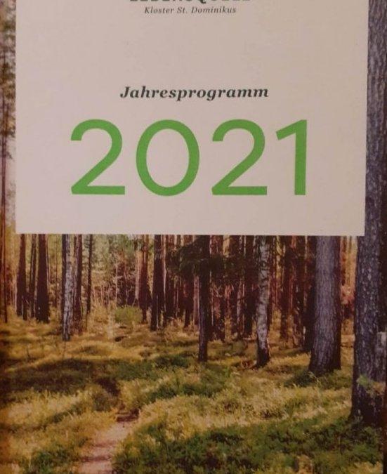 Jahresprogramm 2021